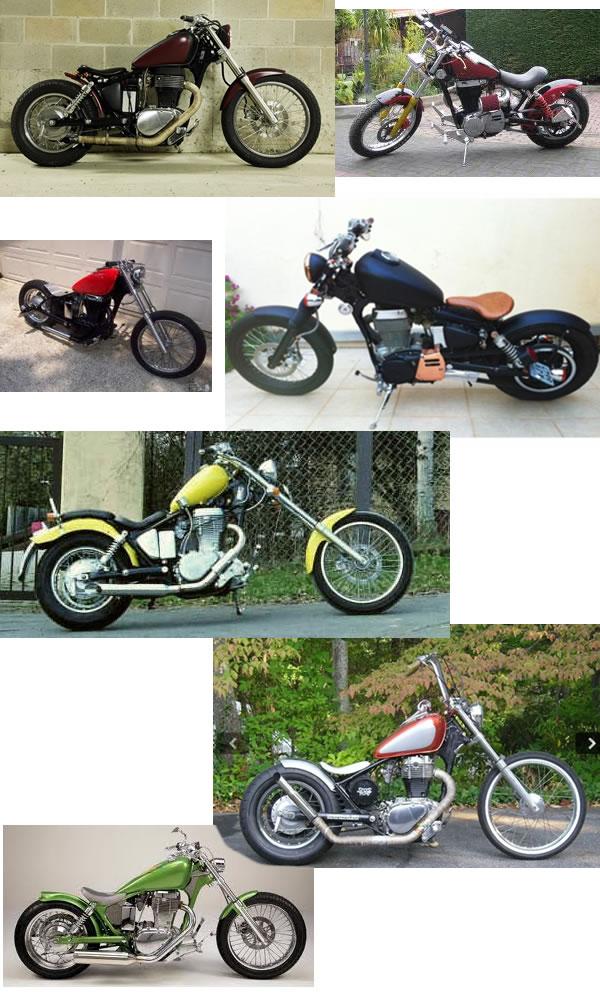 Suzuki Savage customizadas