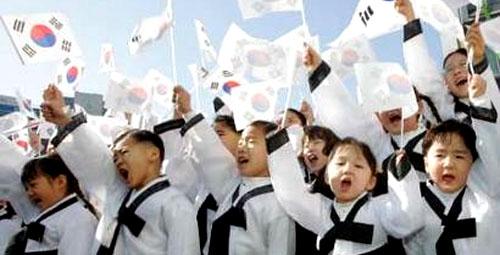 Estudantes sul-coreanos