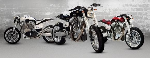 Linha de motocicletas Avinton