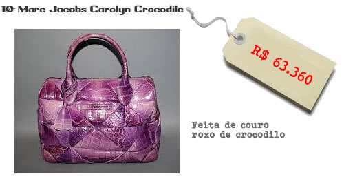 Marc Jacobs Carolyn Crocodile
