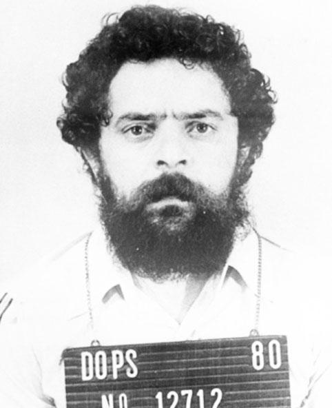 Lula fichado pelo DOPS